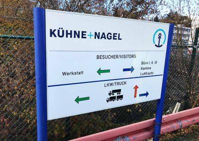 Individuelle Beschilderungen von SCHMÄING Markierungen GmbH