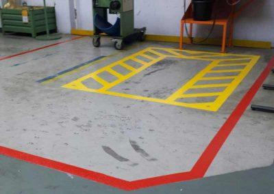 Hallen- und Industrie-Markierungen von Schmaeing Markierungen
